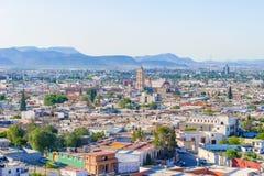 Panorama de la ville de Saltillo au Mexique Photo stock