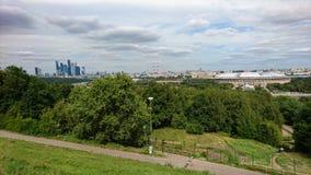 Panorama de la vista-uno de la Moscú imágenes de archivo libres de regalías