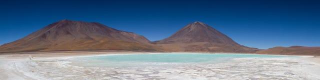 Panorama de Laguna Verde Images libres de droits