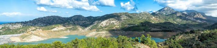 Panorama de Lakeside Image libre de droits
