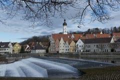 Panorama de Landsberg am Lech photos libres de droits