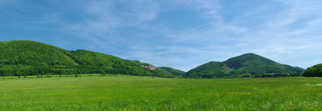 Panorama de las colinas Foto de archivo