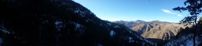 Panorama de las colinas Fotos de archivo