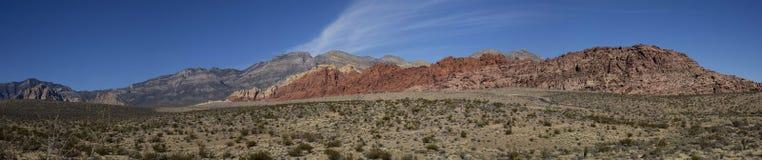 Panorama de las colinas del calicó Imagen de archivo libre de regalías