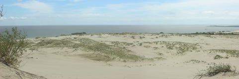 Panorama de las dunas Imagen de archivo libre de regalías
