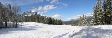 Panorama de las montañas Imagenes de archivo