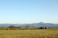 Panorama de las montañas centrales Fotografía de archivo libre de regalías