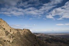 Panorama de las montañas del Cáucaso Fotografía de archivo