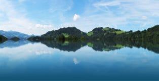 Panorama de las montan@as Fotografía de archivo libre de regalías