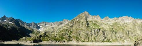 Panorama de las montan@as italianas Imágenes de archivo libres de regalías