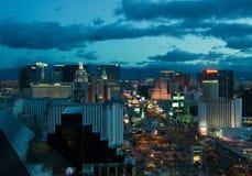 Panorama de Las Vegas Photos libres de droits