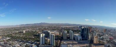 Panorama de Las Vegas nevada Foto de Stock