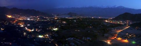 Panorama de Leh Photos libres de droits