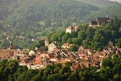 Panorama de lieu de naissance de Draculas Photographie stock libre de droits