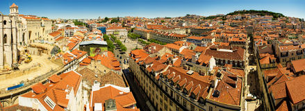 Panorama de Lisboa Imagens de Stock Royalty Free