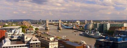 Panorama de Londres Imagens de Stock Royalty Free
