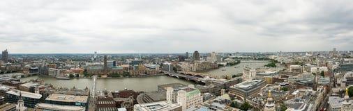 Panorama de Londres Images stock