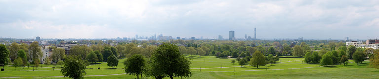 Panorama de Londres Images stock