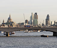 Panorama de Londres Photo stock