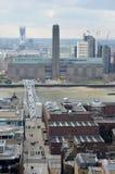 Panorama de Londres Photo libre de droits