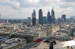 Panorama de Londres Imágenes de archivo libres de regalías