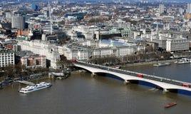 Panorama de Londres Images libres de droits