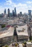panorama de Londres de ville Photos stock