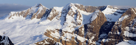 Panorama de los Pyrenees Fotografía de archivo libre de regalías