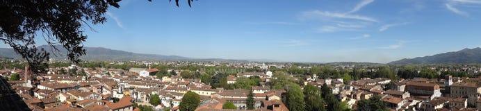 Panorama de Lucca Fotografía de archivo libre de regalías