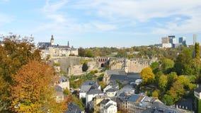 Panorama de Luxembourg video estoque