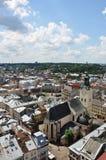Panorama de Lviv Foto de archivo