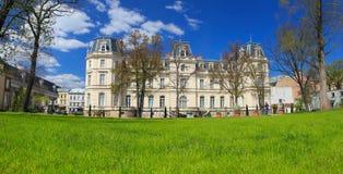 Panorama de Lviv Pal?cio de Potocki em Lviv, Ucr?nia fotografia de stock royalty free