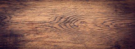 Panorama de madeira da textura imagens de stock