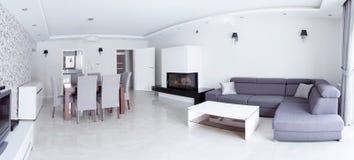 Panorama de maison de luxe Photo libre de droits