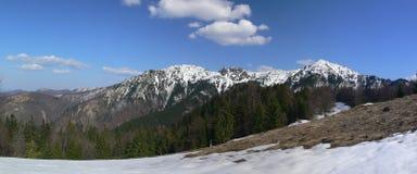 Panorama de Mala Fatra Imagen de archivo