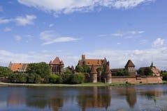 Panorama de Malbork Imagenes de archivo