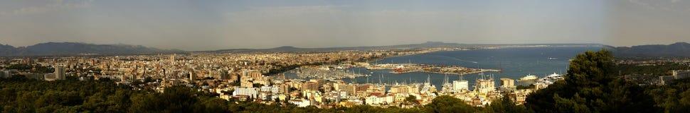 Panorama de Mallorca Fotografia de Stock Royalty Free
