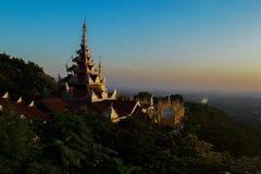 Panorama de Mandalay Fotos de archivo