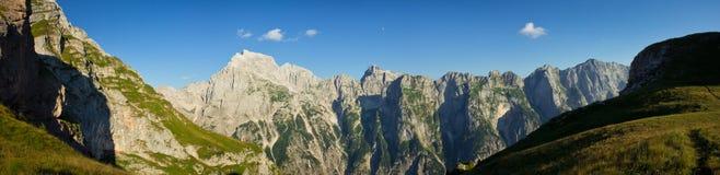 Panorama de mangart Photo libre de droits