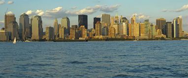panorama de Manhattan Image stock