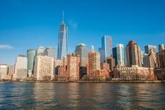 Panorama de Manhattan fotos de archivo libres de regalías