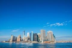 Panorama de Manhattan imagen de archivo libre de regalías