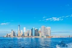 Panorama de Manhattan imágenes de archivo libres de regalías