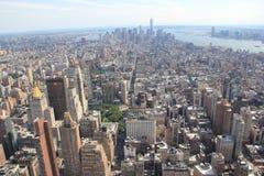 Panorama de Manhattan, Nueva York los E.E.U.U. imagen de archivo libre de regalías