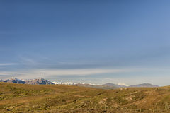 Panorama de Mc Kinley de bâti de parc de Denali Photographie stock