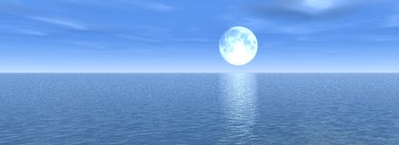 Panorama de mer Photos libres de droits