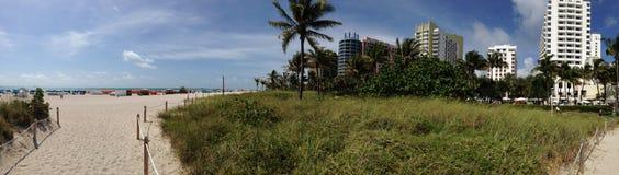 Panorama de Miami Beach Imagens de Stock Royalty Free