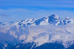 Panorama de Milou en Italie dans les montagnes photos libres de droits