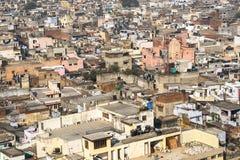 Panorama de minaret de Delhi Jama Masjid Mosque Photos stock