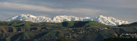 Panorama de montagne Photographie stock libre de droits